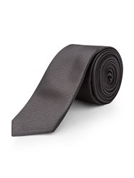 Limehaus Self Stripe Tie Grey
