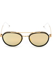 Thom Browne Round Frame Sunglasses Blue