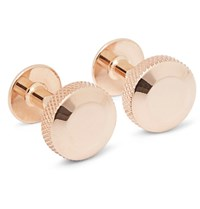 Alice Made This Oliver Rose Gold Plated Cufflinks Rose Gold
