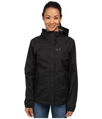 Jack Wolfskin Cloudburst Jacket Black Women's Jacket
