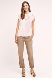 Anthropologie Pilcro Hyphen Chinos Taupe