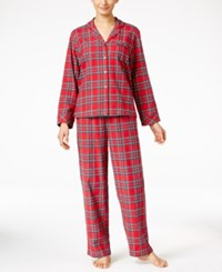 Family Pajamas Women's Holiday Plaid Pajama Set Only At Macy's Brinkley Plaid