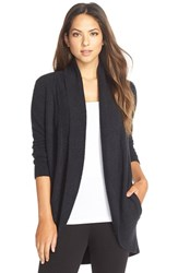 Women's Barefoot Dreams 'Circle' Cardigan Midnight