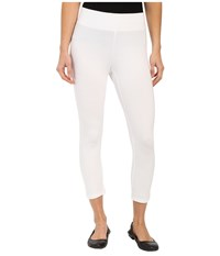 Hue Ultra Capris W Wide Waistband White Women's Capri