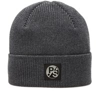 Paul Smith Merino Beanie Grey