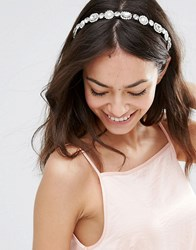 Johnny Loves Rosie Paige Embellished Hairband Gold