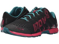 Inov 8 F Lite 195 Grey Berry Teal Women's Running Shoes Gray