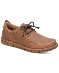 Born Born Men's Joel Etiope Oiled Oxfords Men's Shoes Light Brown