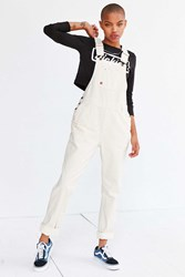 Dickies Denim Bib Overall White
