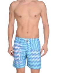 Franks Swimming Trunks Turquoise