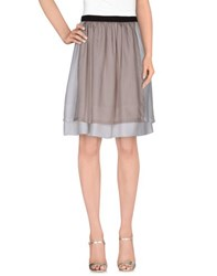 Alysi Skirts Knee Length Skirts Women Dove Grey