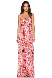 Sam Edelman Inverted Pleat Maxi Dress Pink