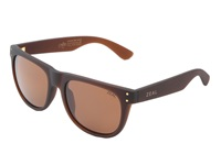 Zeal Optics Ace Bombay Brown W Copper Polarized Lens Athletic Performance Sport Sunglasses Tan
