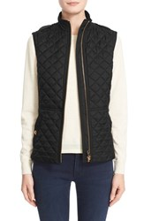 Women's Burberry Brit 'Tindale' Quilted Vest Black