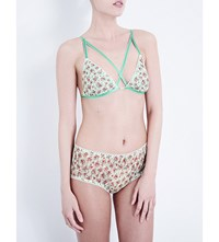 Daydream Nation Beverly Lace Soft Cup Bra Mint