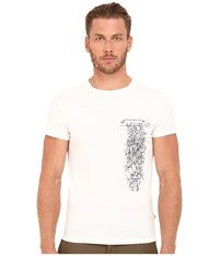 Marc Jacobs Slim Fit Classic Jersey Tee Snow White