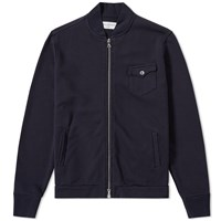 Officine Generale Simon Fleece Bomber Blue