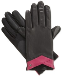 Isotoner Signature Stretch Leather Tech Touch Gloves