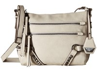 Jessica Simpson Kiara Top Zip Crossbody Cloud Grey Cross Body Handbags Multi