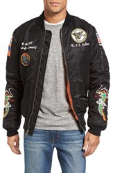 Schott Nyc Men's Souvenir Ma 1 Flight Jacket