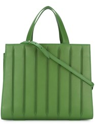 Max Mara 'Designed By Renzo Piano Building Workshop' Tote Green