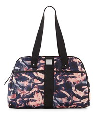 Nicole Miller City Life Printed Yoga Duffle Bag Petal Black