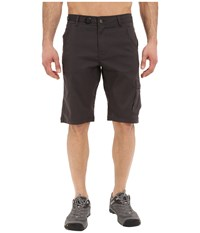 Prana Stretch Zion Short Charcoal Men's Shorts Gray