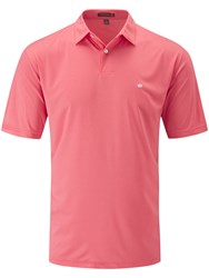 Peter Millar Men's Featherweight Polo Pink