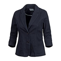 Fat Face Washed Blazer Navy