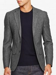 Reiss Morrow Slim Fit Blazer Charcoal