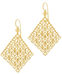 Dinny Hall Gold Vermeil Talitha Statement Earrings