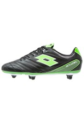 Lotto Stadio 300 Sg6 Football Boots Black Mint