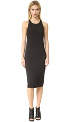 Veronica Beard Reef Racer Back Midi Dress Black
