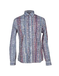 Desigual Shirts Shirts Men Dark Blue