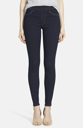 True Religion 'Runway' Leggings Indigo Denim Body Rinse