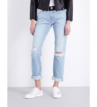 French Connection The Mashed Up Mid Rise Boyfriend Jeans Blue