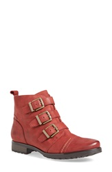Earthies 'Carlow' Boot Women Red