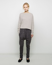 Lauren Manoogian Skinny Arch Pants Charcoal Flax