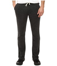 Threads For Thought Tri Blend Fleece Sweatpants Heather Black Men's Casual Pants