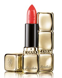 Limited Edition Kisskiss Lipstick Lunar New Year 344 Sexy Coral Guerlain