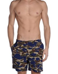 Carhartt Swimwear Swimming Trunks Men Blue