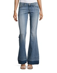 Flying Monkey Cotton Stretch Flared Jeans Let Loose