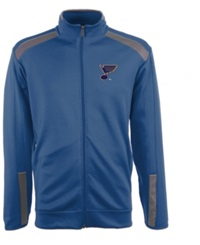 Antigua Men's St. Louis Blues Flight Jacket