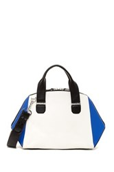 Mackage Sage Leather Satchel White
