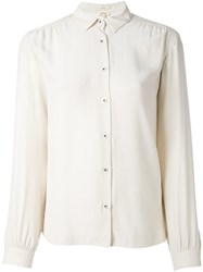 Bellerose Classic Shirt Nude And Neutrals