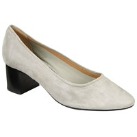John Lewis Kin By Astra Court Shoes Grey Suede