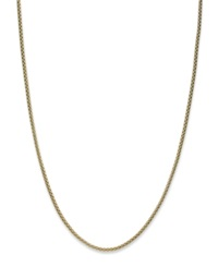 Giani Bernini 24K Gold Over Sterling Silver Necklace Round Curb Necklace