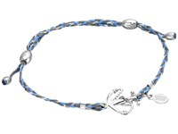 Alex And Ani Precious Thread Anchor Bracelet Blue Silver Bracelet Navy