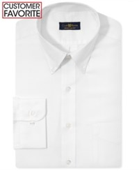 Club Room Estate Big And Tall Wrinkle Resistant Solid Dress Shirt White