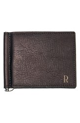 Men's Cathy's Concepts Personalized Leather Wallet And Money Clip Brown Brown R